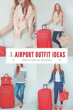 I'm a little bit obsessed with travel clothes, and can spend hours working out what to wear to the airport and on the plane. Here are three of my go-to airport outfits, plus tips and advice on how to choose travel clothes that will look as good at the end of the flight as they do at the start (and be comfortable to wear, too!).