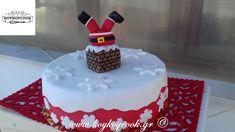 ΧΡΙΣΤΟΥΓΕΝΝΙΑΤΙΚΗ ΤΟΥΡΤΑ Ο ΑΙ ΒΑΣΙΛΗΣ ΣΤΗΝ ΚΑΜΙΝΑΔΑ Birthday Cake, Desserts, Christmas, Food, Tailgate Desserts, Xmas, Deserts, Birthday Cakes, Essen