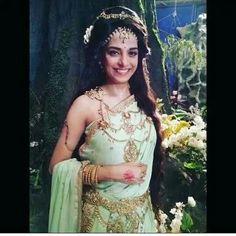 Saris, Pooja Sharma, Goddess Art, Tv Actors, Indian Gods, Lehenga, Desi, Actresses, Clothes For Women