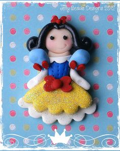 Classic Snow White by jelly beads, via Flickr