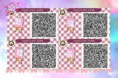 Acnl Paths, Motif Acnl, Path Design, Pixel Pattern, Sanrio Characters, Animal Crossing Qr, Qr Codes, New Leaf, Nintendo