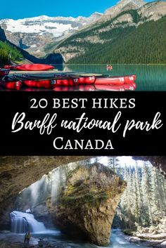 Hikes: 20 Best hikes in Banff National Park, Canada The clean alpine air, the smell of the pine trees and mountain views all around you. one of the Best Hikes in Banff National Park, the popular Canadian. Banff National Park Canada, Yoho National Park, Banff Canada, Alberta Canada, Banff Alberta, Canadian Travel, Canadian Rockies, Vancouver Island, Calgary