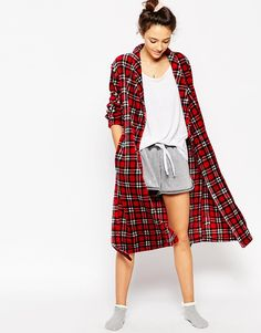 ASOS Super Soft Tartan Robe