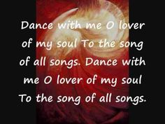 DANCE WITH ME with Lyrics by Paul Wilbur Messianic; a beautiful song that touches me.