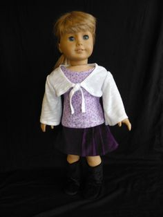 18 inch Doll Clothes Fits American Girl  Purple by HoleInMyBucket, $20.00