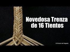 """Trenza del Conquistador o Trenza de 1 """"El Rincón del Soguero"""" - YouTube Paracord Tutorial, Paracord Knots, Good Morning Gif, Embroidery Dress, Leather Craft, Diy Jewelry, Conquistador, Diy And Crafts, Weaving"""