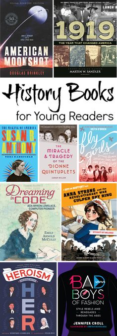 Here's another great collection of nonfiction history books written for young readers . This time aroun. Fall From Grace, Space Race, Infancy, Teen Boys, History Books, Book Series, Nonfiction, American History, Good Books