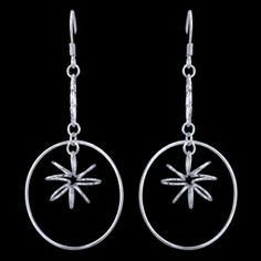 STERLING SILVER EARRINGS, MODERN