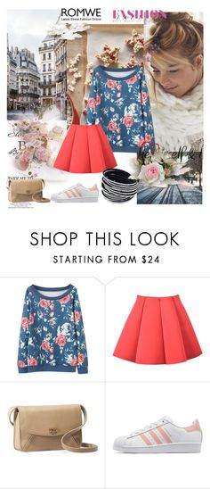 """""""Roses are red, violet are blue..."""" by laurablima-1 ❤ liked on Polyvore featuring UGG Australia and adidas Originals"""