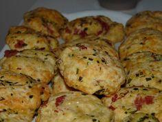 ♥ Des cookies salés pour l'apéro: mes cookies bacon-gruyère-ciboulette ♥