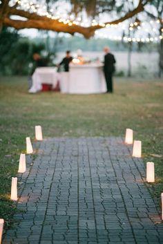 Charleston Wedding Venue in Light Green - MODwedding