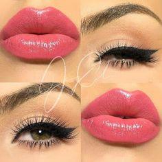 Make Up - Beauty & Health 101 auf - Wallpaper Pinme Gorgeous Makeup, Pretty Makeup, Love Makeup, Makeup Inspo, Makeup Inspiration, Beauty Makeup, Eyebrow Makeup, Skin Makeup, Natural Lipstick