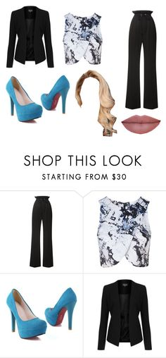 """""""Patrica"""" by laporshia ❤ liked on Polyvore featuring Rodarte and Topshop"""