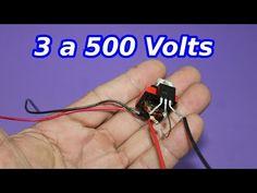 Elevador de Voltaje Miniatura. 3 a 500 Volt - YouTube