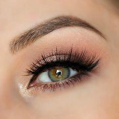 Helpful hazel eye makeup - Bridal make up - Eye Makeup Glitter, Bridal Eye Makeup, Hazel Eye Makeup, Wedding Makeup Tips, Dramatic Eye Makeup, Formal Makeup, Natural Wedding Makeup, Natural Eye Makeup, Eye Makeup Tips