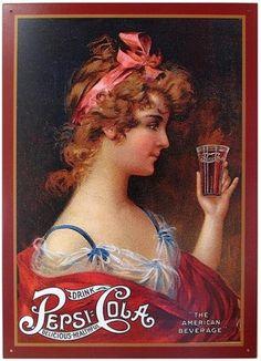Pepsi vintage days.