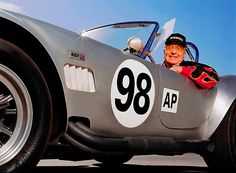 With the GT40 and the Cobra Shelby became the only man to win LeMans as a driver, team owner and automaker.