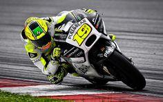 壁紙をダウンロードする アルバロバウティスタ, 4k, MotoGP, レースウェイ, Asparレーシングチーム, ドゥカティ1199Panigale