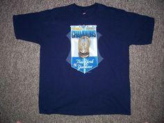 05f9ef2b59f New York Yankees MLB 1999 World Series Champions Pro Player Shirt-XL   ProPlayer