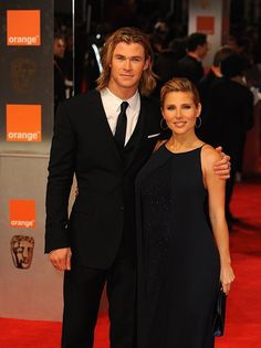 Chris Hemsworth and Elsa Pataky. They know they are hot :D