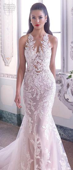 #wedding #bridal #weddings #weddingdress #weddingdresses #weddinggown #weddinggowns Sheer Wedding Dress, Fit And Flare Wedding Dress, Dream Wedding Dresses, Bridal Dresses, Wedding Gowns, Sleeveless Wedding Dresses, Weeding Dress, Dresses Uk, Summer Dresses