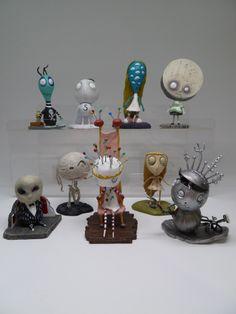 Tim Burton's Tragic Toys - Three Figure Sets