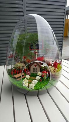 26 amazing diy mini terrarium garden projects and ideas 11