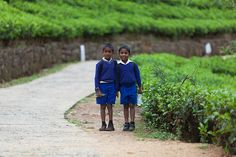 Way to school, Nuwara Eliya, Central Province, Sri Lanka (www.secretlanka.com) Tour Operator, Maldives, Sri Lanka, Raincoat, African, Jewel, People, Faces, School