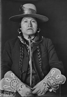 George Wince Tendoy (a son of Tendoy) - Shoshone - 1907