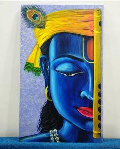 #picaspurehands #krishnapainting #canvaspainting #acrylics #acryliccanvas