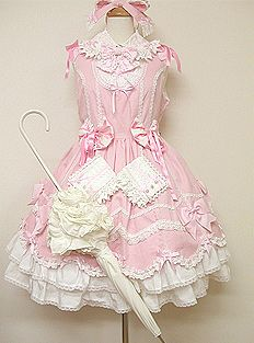 Angelic Pretty / Jumper Skirt / Sweet Vacation JSK (Fashion Show Only)