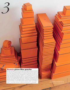 Hermes boxes...ok here's the deal...if someone ever gives you a gift and this is the box it comes it....cherish it.