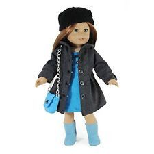 NEW American Girl Dolls Doll Clothes 18 Inch 2 Piece, Winter Coat and Hat Outfit