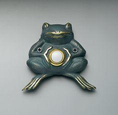 Frog Doorbell :)