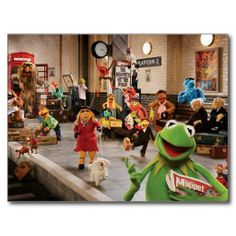 A great poster from The Muppets Most Wanted movie! Kermit the Frog, Miss Piggy, Fozzie the Bear and the rest of the cast! Miss Piggy, Wanted Movie, Muppets Most Wanted, Coming To Theaters, Fraggle Rock, The Muppet Show, Kermit The Frog, Tina Fey, Jim Henson