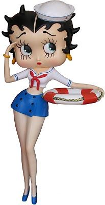 Betty Boop Pictures Archive: sailor ~ For 1,000's of #BettyBoop pictures, go to: http://bettybooppicturesarchive.blogspot.com/