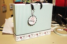 Quick and Stylish DIY Gift Bags  - - Skipping Stones Design