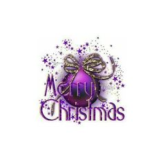 MERRY_CHRISTMAS_Purple_Christmas_Ball_RM8781 ❤ liked on Polyvore featuring christmas, xmas, holidays, text, backgrounds, natale, phrase, quotes, saying and filler