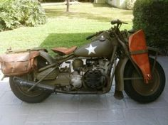 1942 Harley Davidson XA ! As the US was gearing up for World War II, the Army decided that it needed a motorcycle that could deal with the harsh and dusty environments it would likely face. It asked for a motorcycle similar to the BMW's that Rommel's forces were using in the deserts of North Africa. Harley responded to the Army's call with the XA.