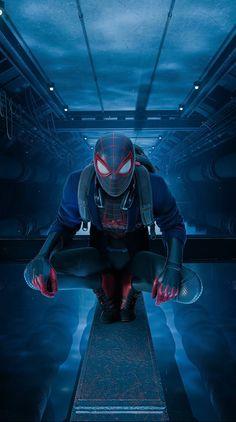 Miles Spiderman, Miles Morales Spiderman, Black Spiderman, Spiderman Art, Amazing Spiderman, Marvel Wallpaper, Iron Man Wallpaper, Hd Wallpaper, Marvel Heroes