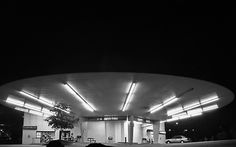 The saucer building in St. Louis when it was a Naugles. It has also been several other businesses. Del Taco, Roadside Attractions, St Louis, Spaceship, Phillips 66, The Neighbourhood, Flying Saucer, History, Architecture