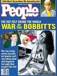 an introduction to the article in people magazine by lorena bobbitt In the early '90s, a young couple from virginia was involved in a story that many people will never forget in june 1993, 24-year-old lorena bobbitt became known as the woman who cut off her husband's penis with a carving knife on the night of the infamous assault, lorena says her husband, john .