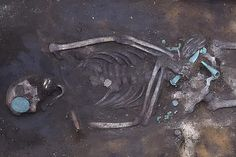 Ancient 2,900-year-old warrior unearthed in Siberia holding a blade in each hand to take on his enemies in the afterlife Old Warrior, Archaeological Site, Bronze Age, Enemies, Year Old, Blade, Hold On, One Year Old, Age