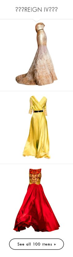 """""""༺♥༻REIGN IV༺♥༻"""" by darkviol3t ❤ liked on Polyvore featuring dresses, gowns, long dresses, evening gowns, tube dress, long tube dress, long dress, vestidos, yellow dress and yellow gown"""