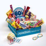 Hometown Favorites 1960's Nostalgic Candy Gift Box, Retro 60's Candy. (Grocery)By Hometown Favorites