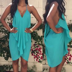 Dresses - Strapless Flirty Summer Dresses In Various Colors