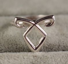 Angelic Rune Resizable Ring The Mortal Instrumnets by koufetina