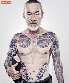 不良暴走族?日本超硬派「刺青」大叔,他的真實職業絕對讓你想不到! - PTT01