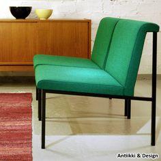 """Lepotuoli """"8509"""", Voitto Haapalainen, Asko OY, 1960, 680 € - Antiikki & Design - AntiikkiShop"""