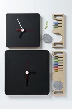 who doesn't need a chalkboard clock?..